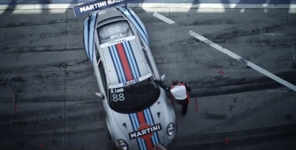 911 gt3 cup martini