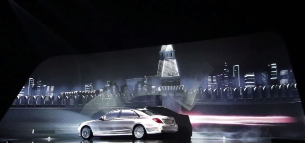 Projection_Mapping_Mercedes_Benz_Classe_S_1