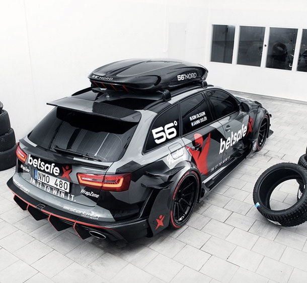 nouvelle audi rs6 dtm by jon olsson sur startandstop. Black Bedroom Furniture Sets. Home Design Ideas
