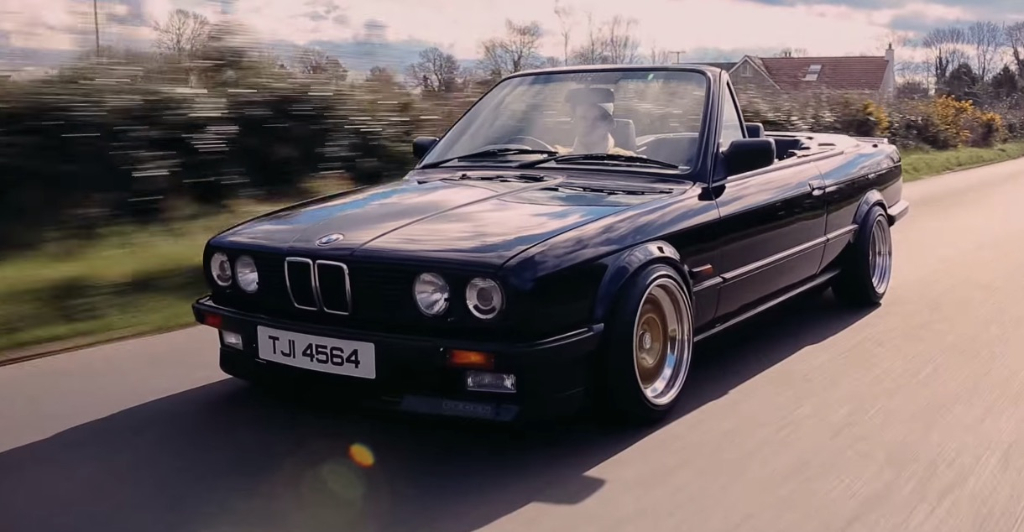 Bmw e30 cabriolet for Bmw nasa garage juillet niort