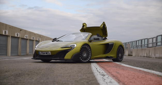 McLaren 675LT Spider by Bruno Senna
