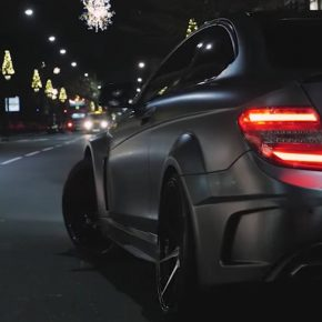 50 shades of Mercedes-Benz C63 AMG