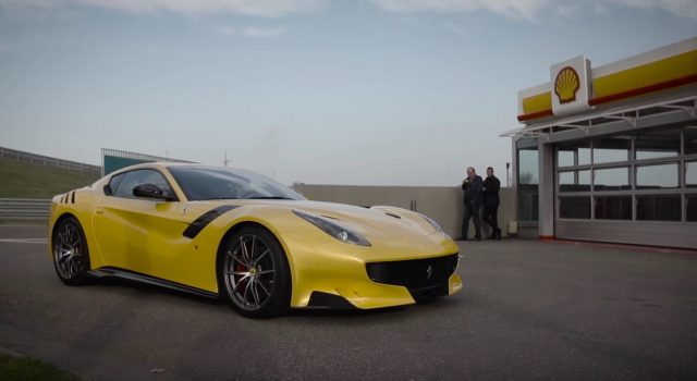 La Ferrari F12 TDF par Chris Harris