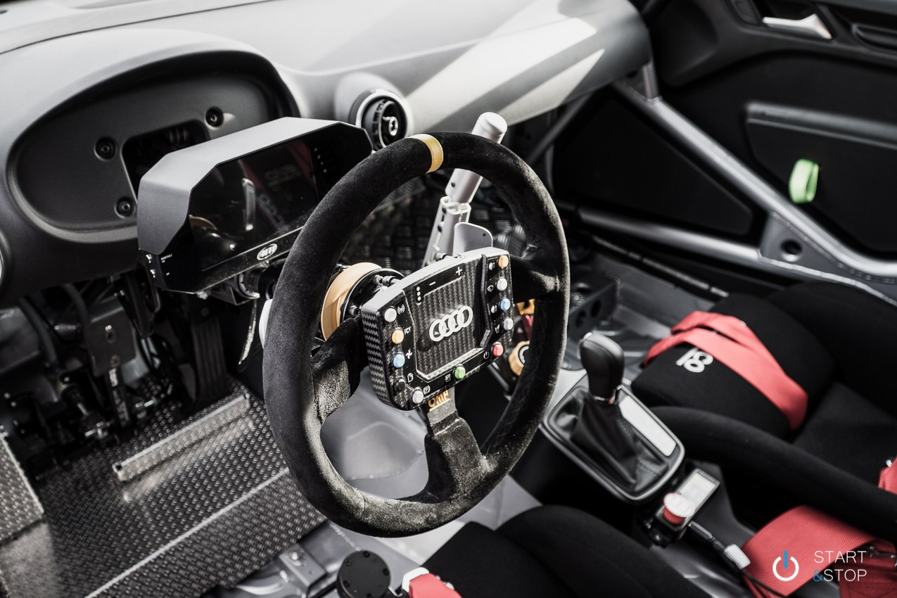 Audi RS3 LMS interieur