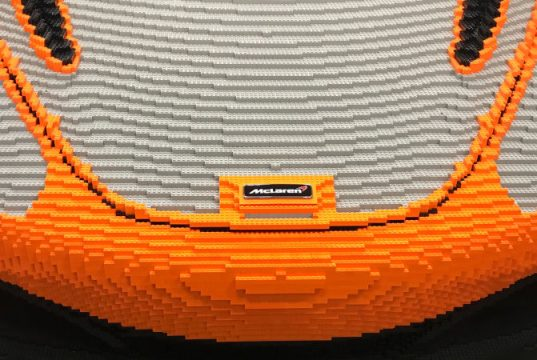 Une McLaren 720S en Lego à Goodwood