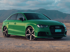La plus belle route d'Oman avec l'Audi RS3 Berline