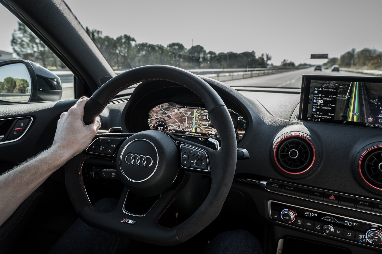 Audi RS3 interieur