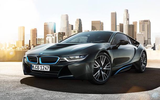 Belle La BMW i8, une voiture de sport d'une nouvelle génération BB-55
