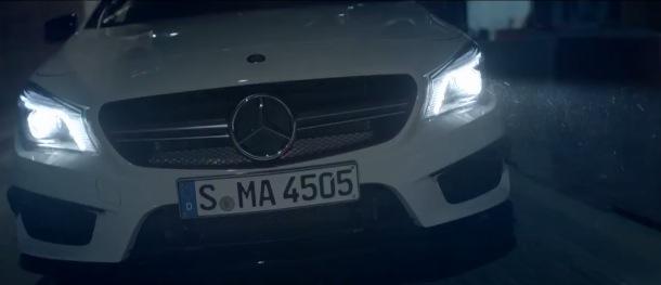 Le film pub de la Mercedes CLA 45 AMG tourné à Paris