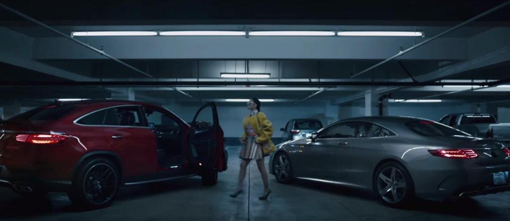 Paige McPherson pour Mercedes-Benz