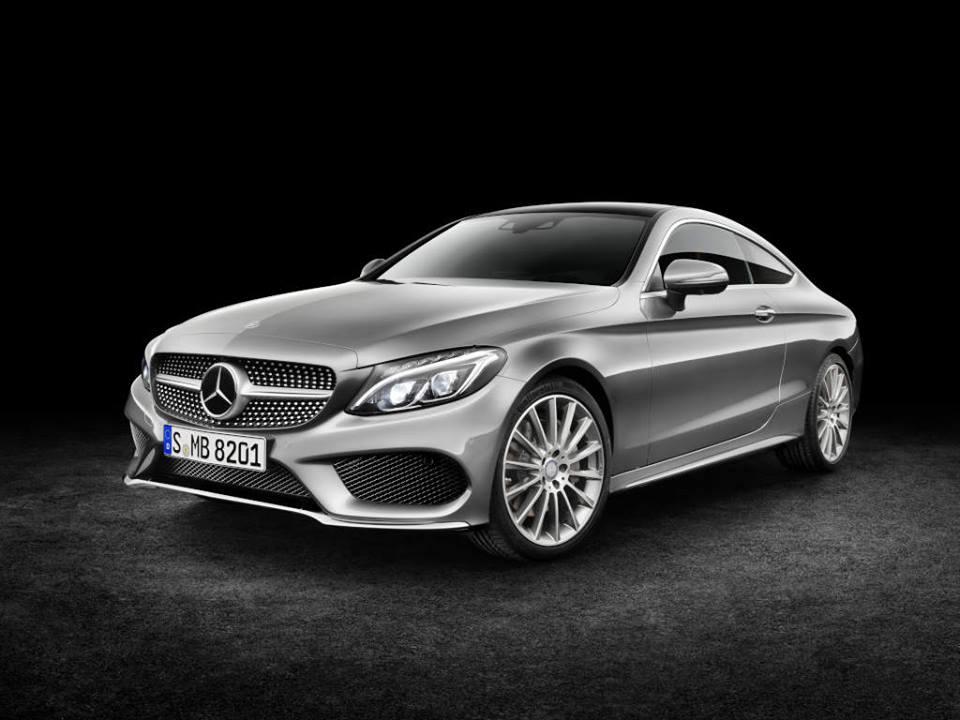Nouvelle Mercedes-Benz Classe C Coupé