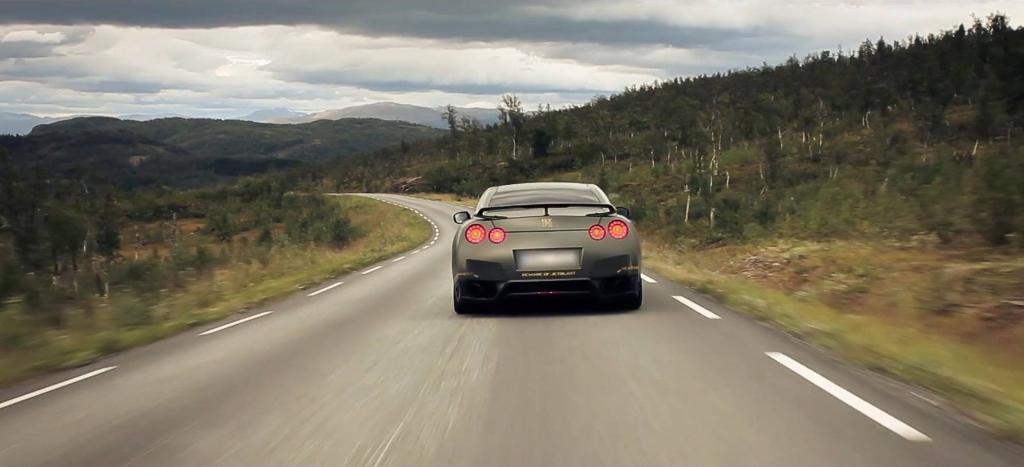 Road trip en Norvège avec une Nissan GT-R
