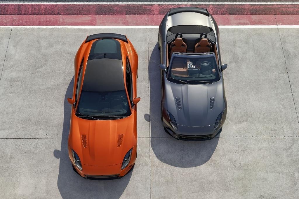 Nouvelle Jaguar F-Type SVR