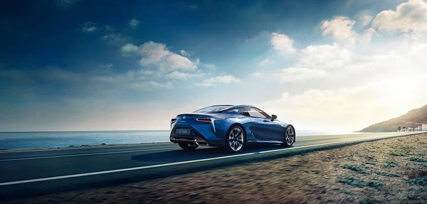 Nouvelle Lexus LC 500h