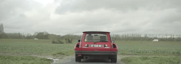 La Renault 5 Turbo 2 de Christophe Guerin