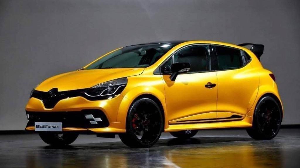 Renault Clio R.S. très spéciale dévoilée à Monaco