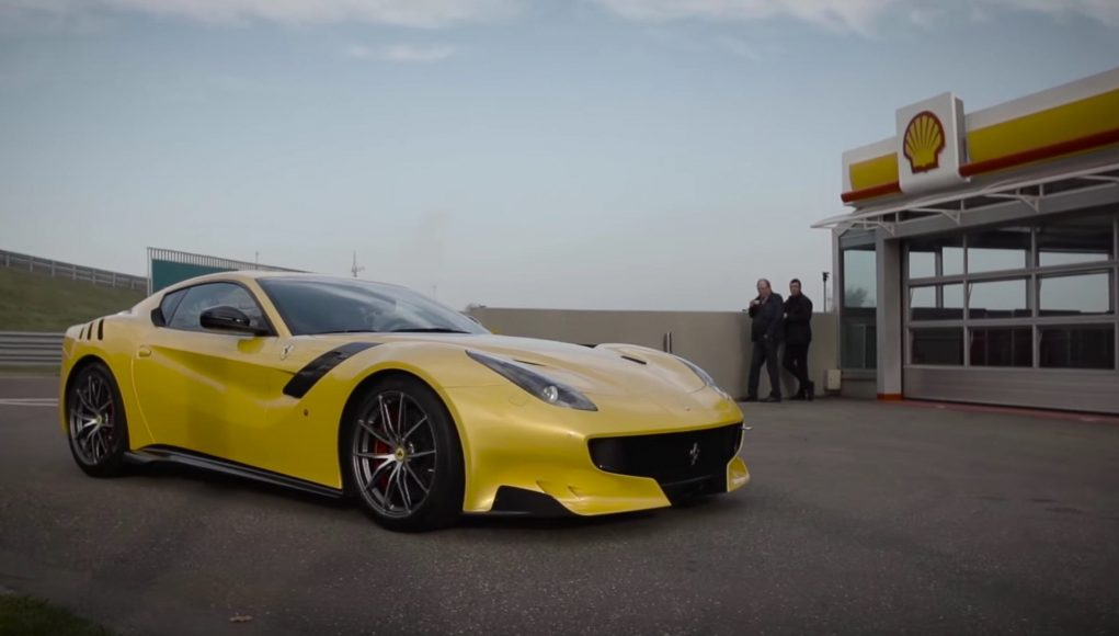 La Ferrari F12 TDF par Chris Harris
