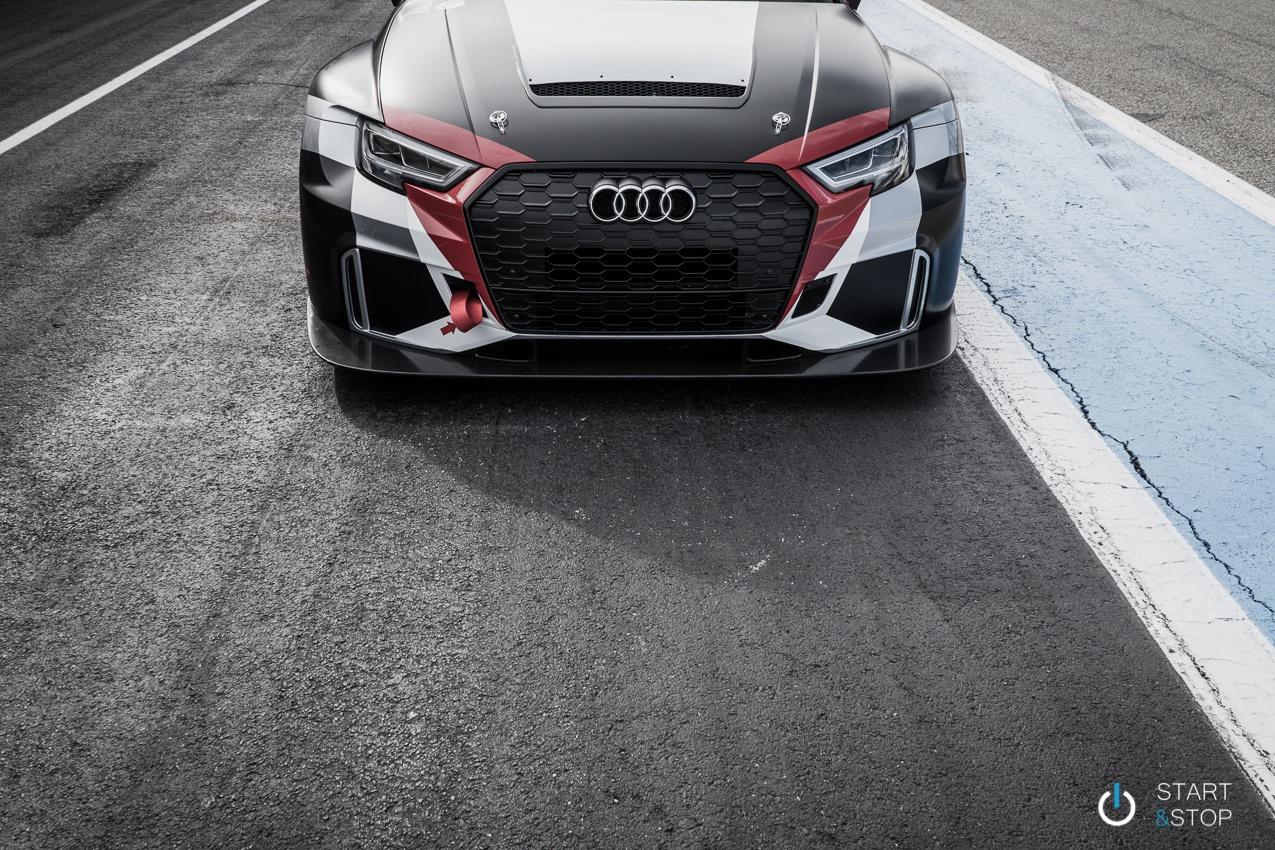Audi RS3 LMS Essai
