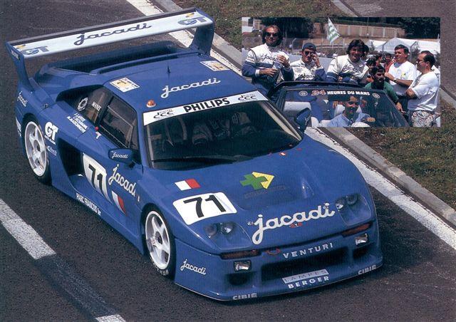 Jacadi Racing Venturi 71 Le Mans 1993