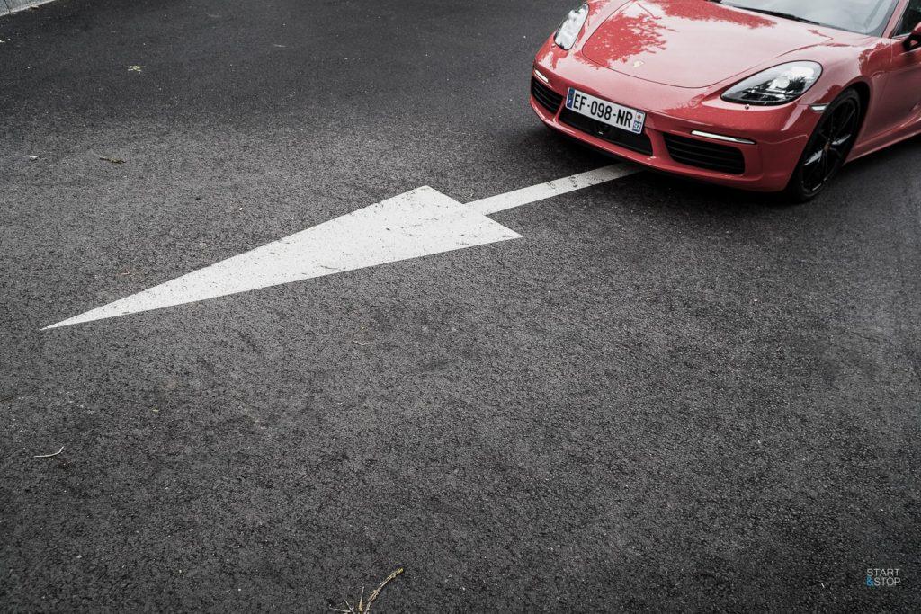 dimensions Porsche 718 Cayman