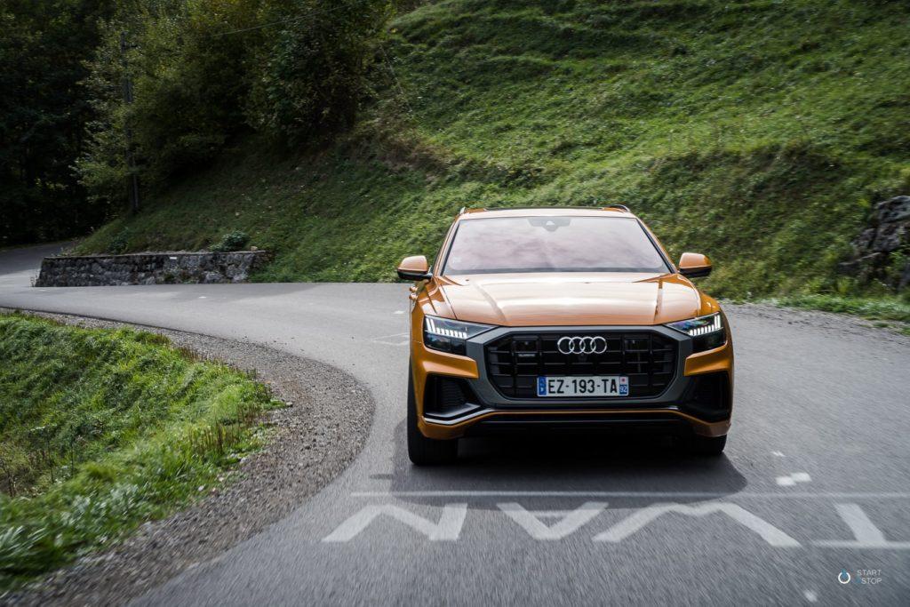 Audi Q8 route