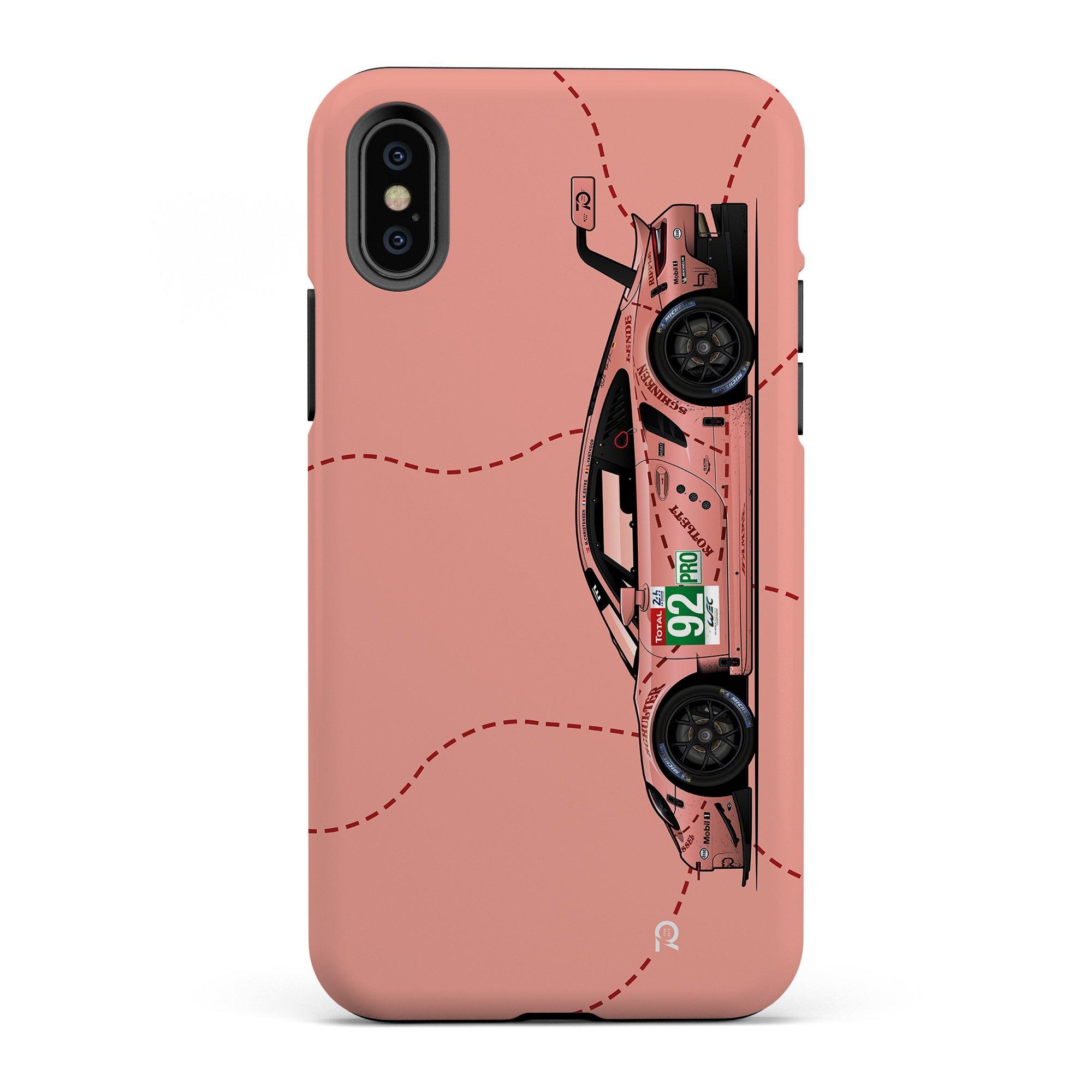 coque iphone Porsche 911 RSR Pink Pig